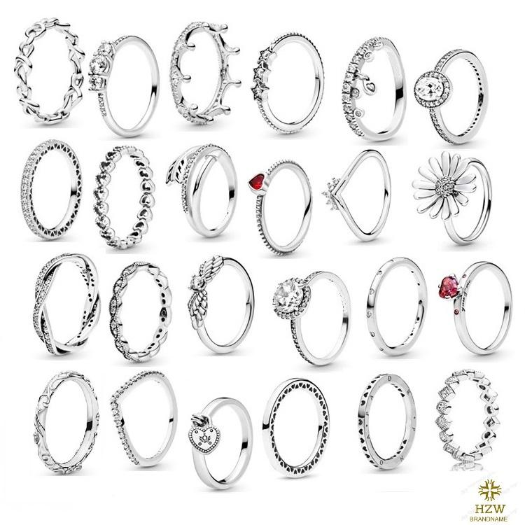 New Arrival high-quality wholesale silver ring is suitable for wedding and parties