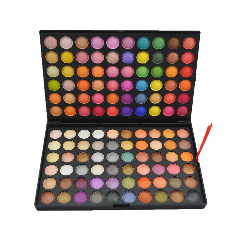 Custom label eye shadow cosmetics suppress pigment flash eye shadow palette 120 color hot eye shadow