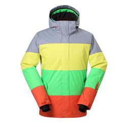 Men's ski wear single board double board snow town travel waterproof and windproof ski suit
