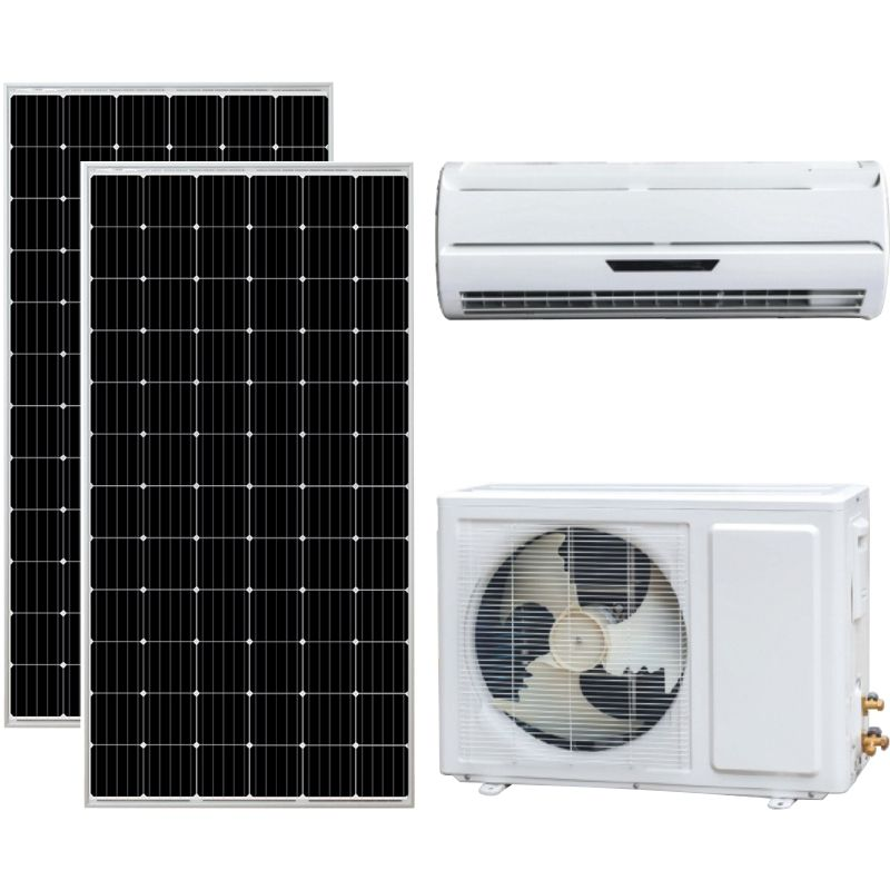 DC AC Hybrid Wall Mounted Split Solar Air Conditioning Solar Air Conditioner//