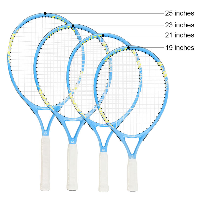 WHIZZ new arrival 25inches aluminum alloy blue children tennis racquet