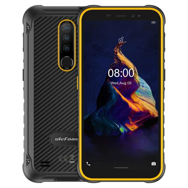 2021 beste verkauf Ulefone Armor X8 Rugged Phone, 4GB + 64GB, 5080mAh Battery, 5.7 zoll Android 10.0 MTK6762V/<span class=keywords><strong>WD</strong></span> (Orange)