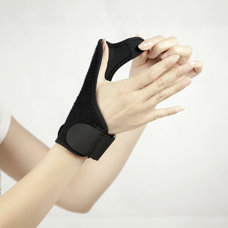 Adjustable thumb sleeve Wrist protection support Thumb rehabilitation support wrist band