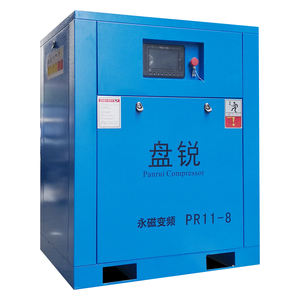 100 psi 250 cfm slient combined screw air compressor for sale