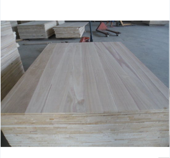 Paulownia Finger Jointed Board of high quality for furniture manufacturer wholesale