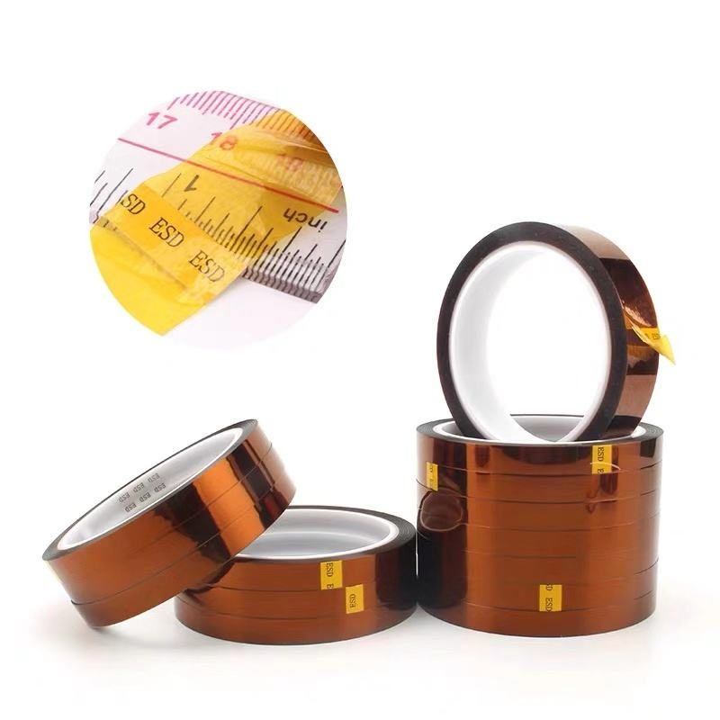 high temperature sublimation heat resistant insulation polyimide PI mounting tape for solar cells