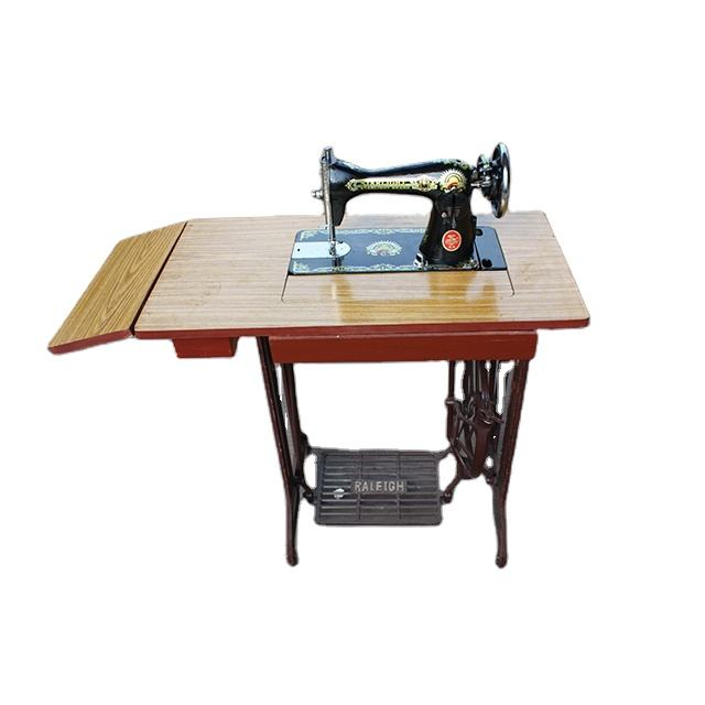 JA2-1 WITH 2-DRAWER TABLE STAND HOUSEHOLD TREADLE SEWING MACHINE TRIMMING BELT