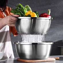 304 food grade stainless steel kitchen bowl set utensils eco