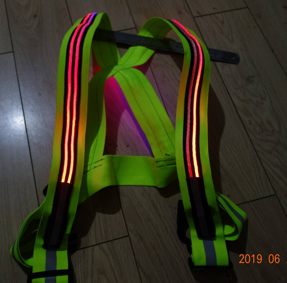 High brightness & Good quality EL Safety vest
