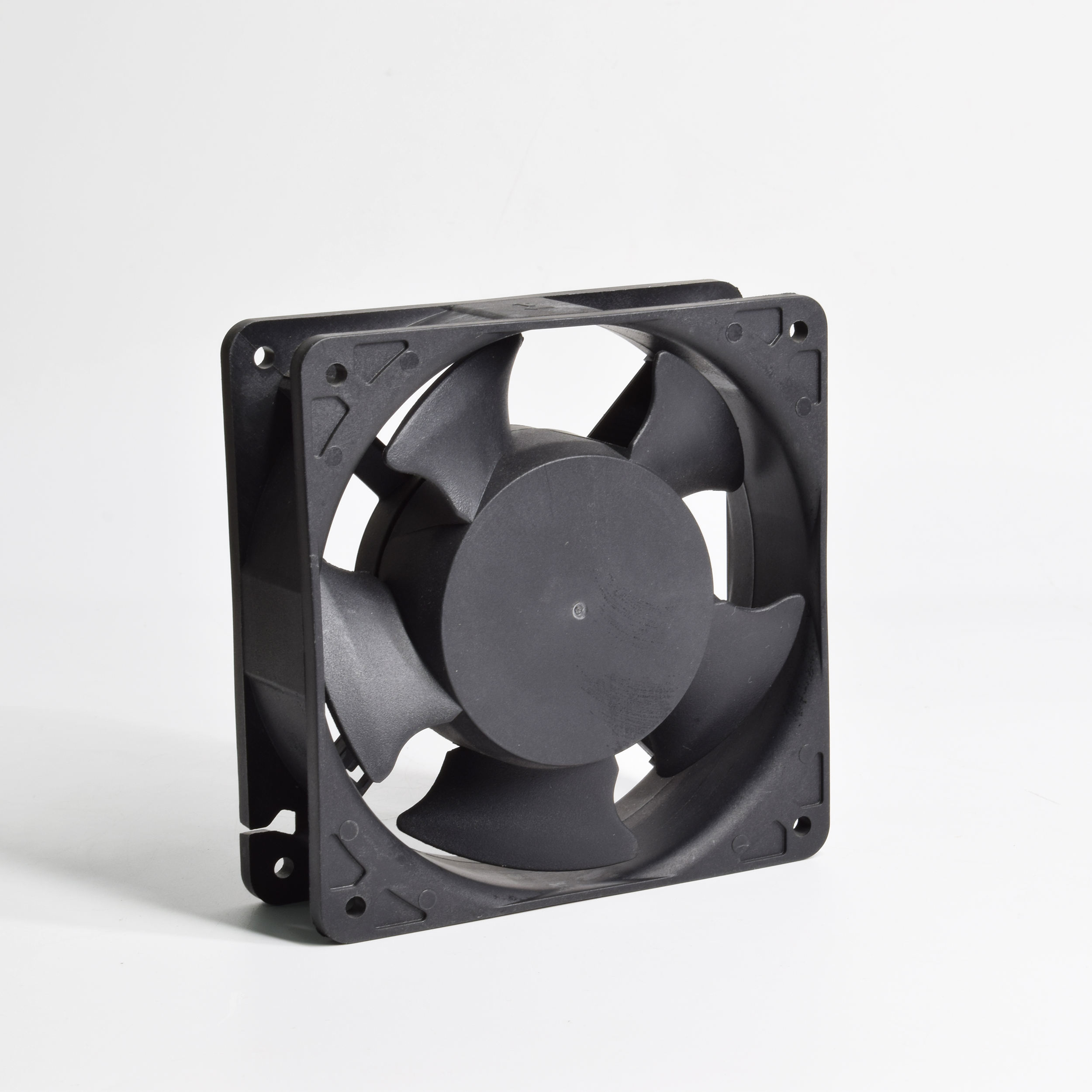 plastic frame 50% energy save EC motor ac 220v plastic frame blades 92mm axial flow small fan
