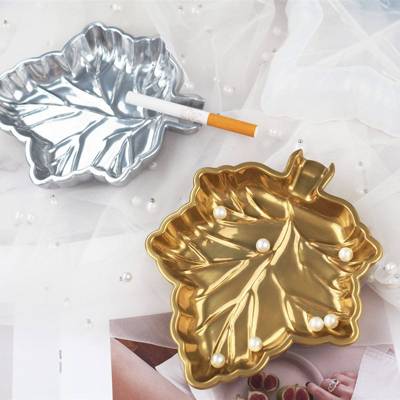 large maple leaf weed pot leaf ashtray resin moulds silicone mold casting craft resin art epoxy