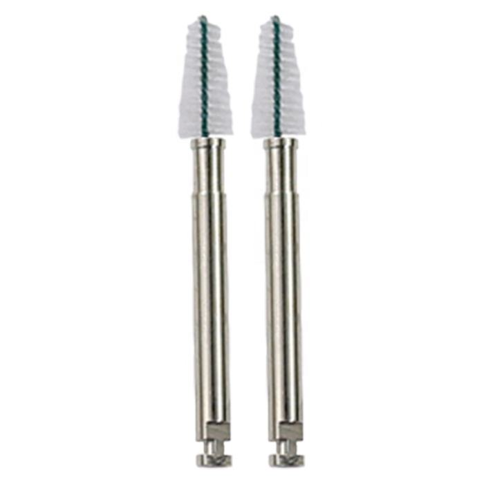 Dental polishing safety standard disposable nylon metal root canal cleaning brush