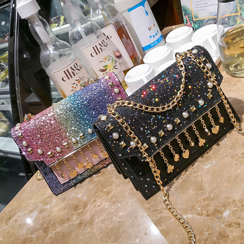 New Sequined handbags woman bags luxury shoulder bags women sling bags for women girls