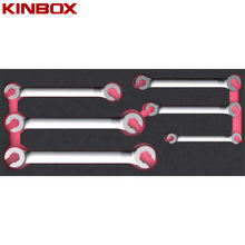 Kinbox Professional Hand Tool Set Item TF01M121 Flare Nut Wrench set