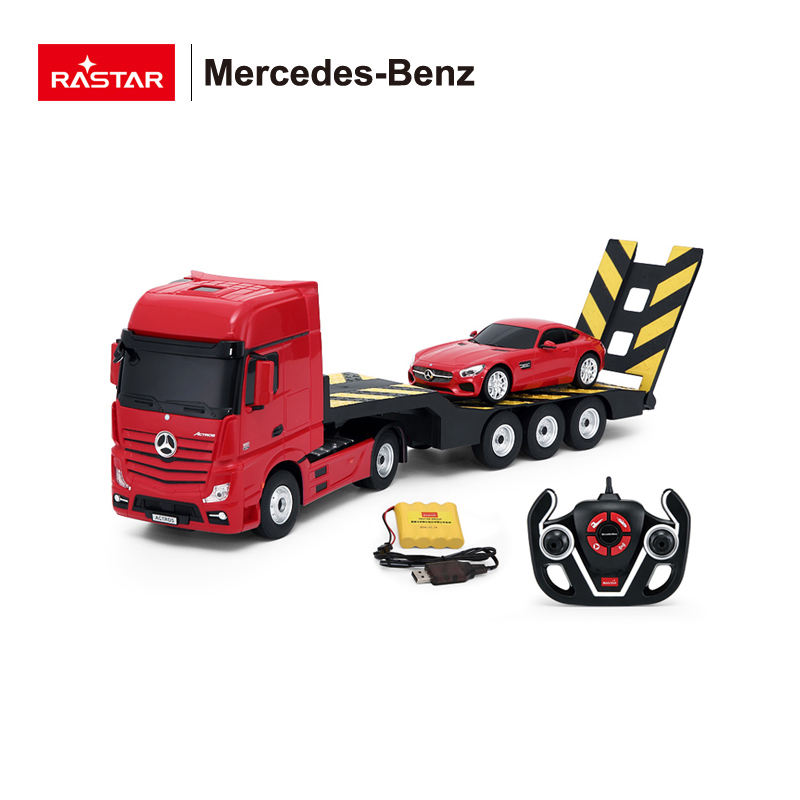 china suppliers Rastar 1:26 Mercedes-Benz Actros Remote Control Toy Truck rc tractor construction vehicle tractor trailer
