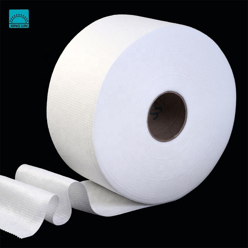 [FACTORY] Non-woven material wholes plain spunlace nonwoven fabric