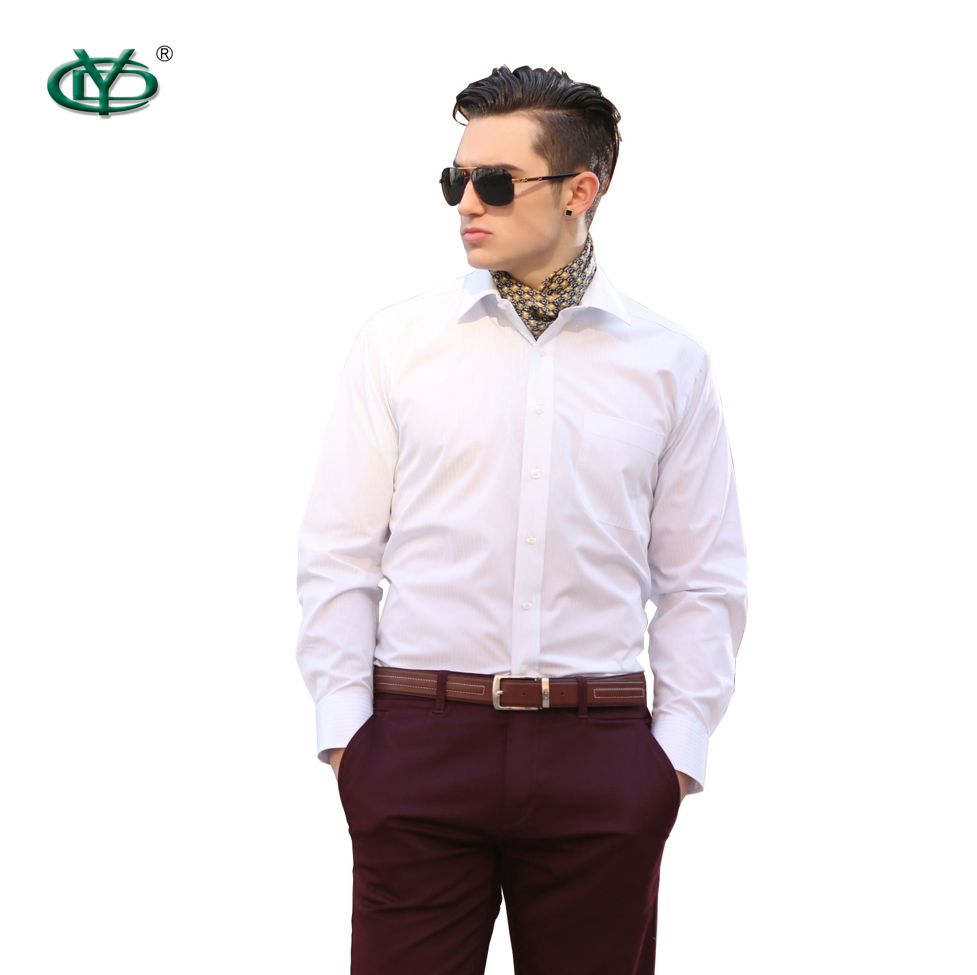 Design Shirt Men High Quality High Classic Cotton Men Dress Shirts Customized
