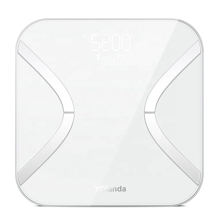 Bluetooth 4.0 Smart Intelligent Bathroom Body Fat Weight Scale