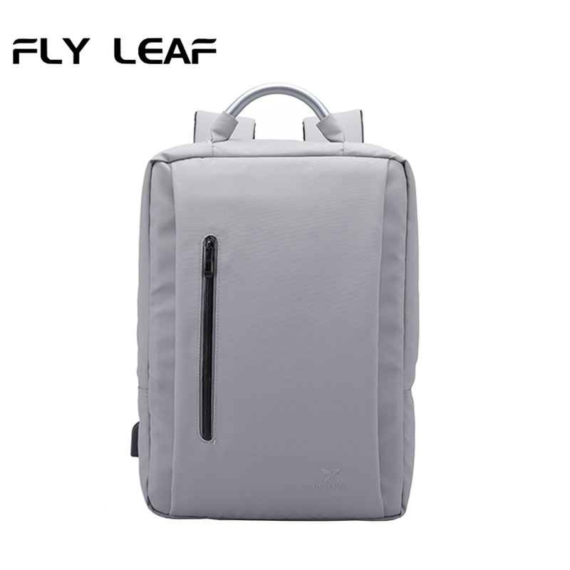 Custom italy laptop backpack 2 in 1 fashion minimalist backpack flyleaf