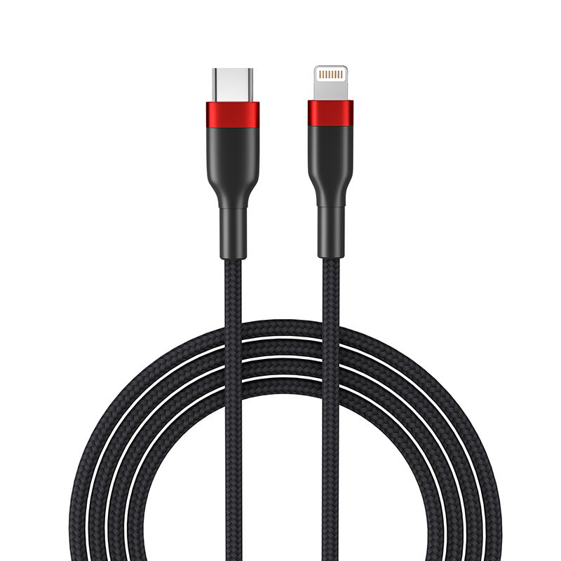 Tipo C a iOS 8PIN Cable de sincronización de datos y de rápida Cable de carga para iPhone 11 12 Pro X XS X XR XSMAX iPad aire Mini