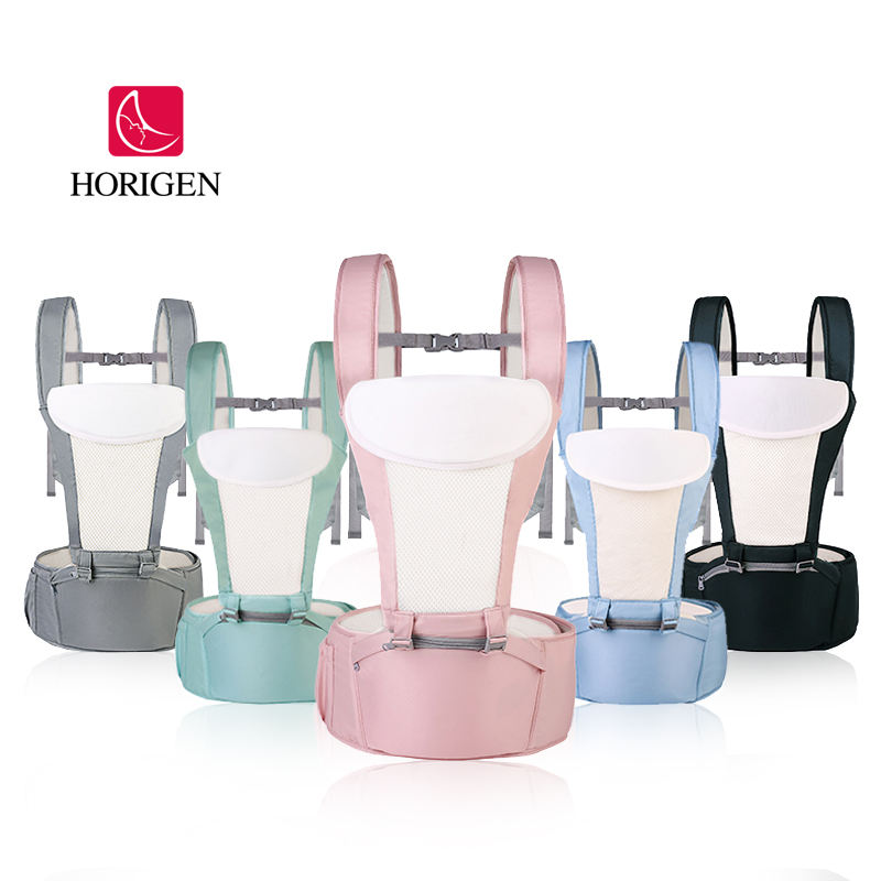 wholesale comfortable positions ergonomic portable baby carrier breathable multifunctional 6-in-1 baby hipseat