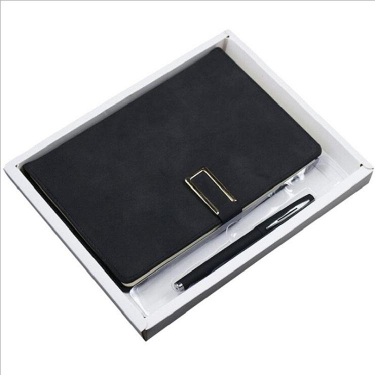 creative office custom logo a5 pu leather notebook