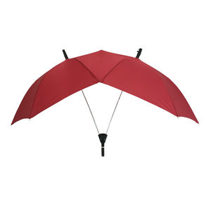 Twins popular automatic double dual novelty wholesale strange two people parasol lover couple umbrella double shaft twins lover