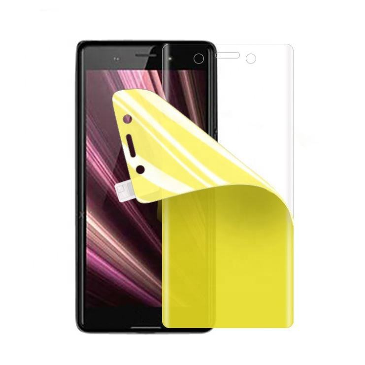 Full Adhesive Soft Tpu Screen Film Anti Scratch For Sony XZ1 / XZ2 / XZ3 / XZ4 / XZ 5 Screen Protector