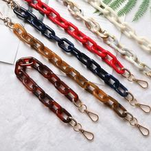 High-grade red black acrylic bag chain glasses chain waist chain