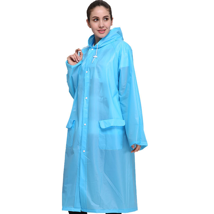 2020 NEW Custom Waterproof EVA Rain Gear Rain Coat