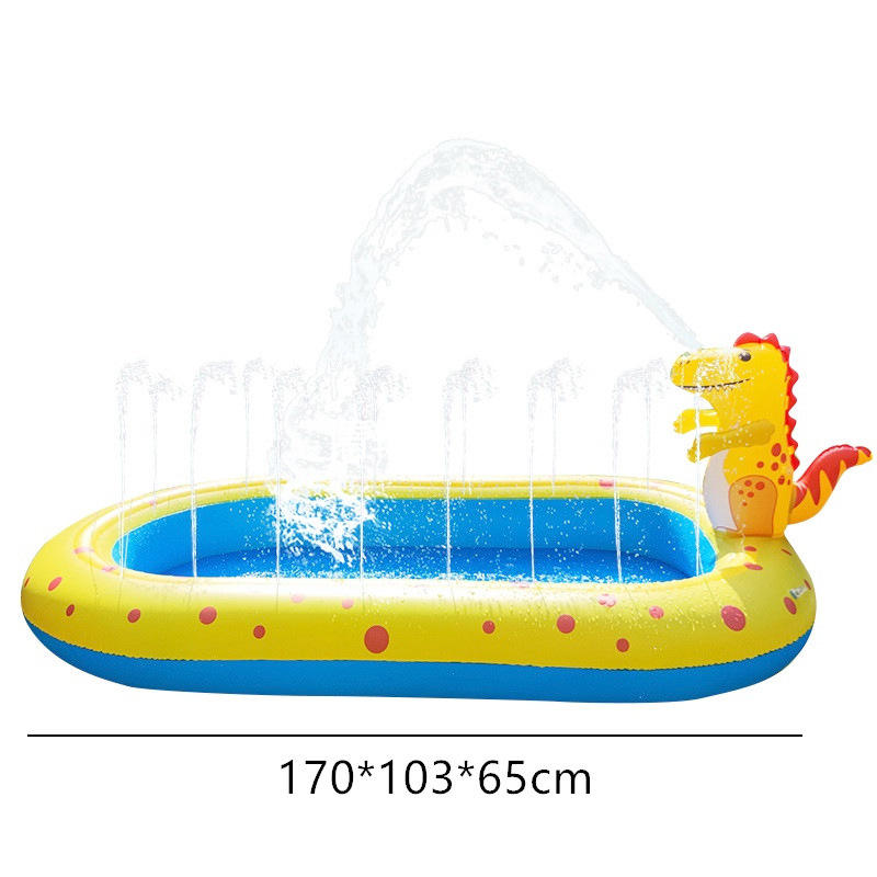 outdoor PVC Inflatable dinosaur Swimming Pool other toys for Kids