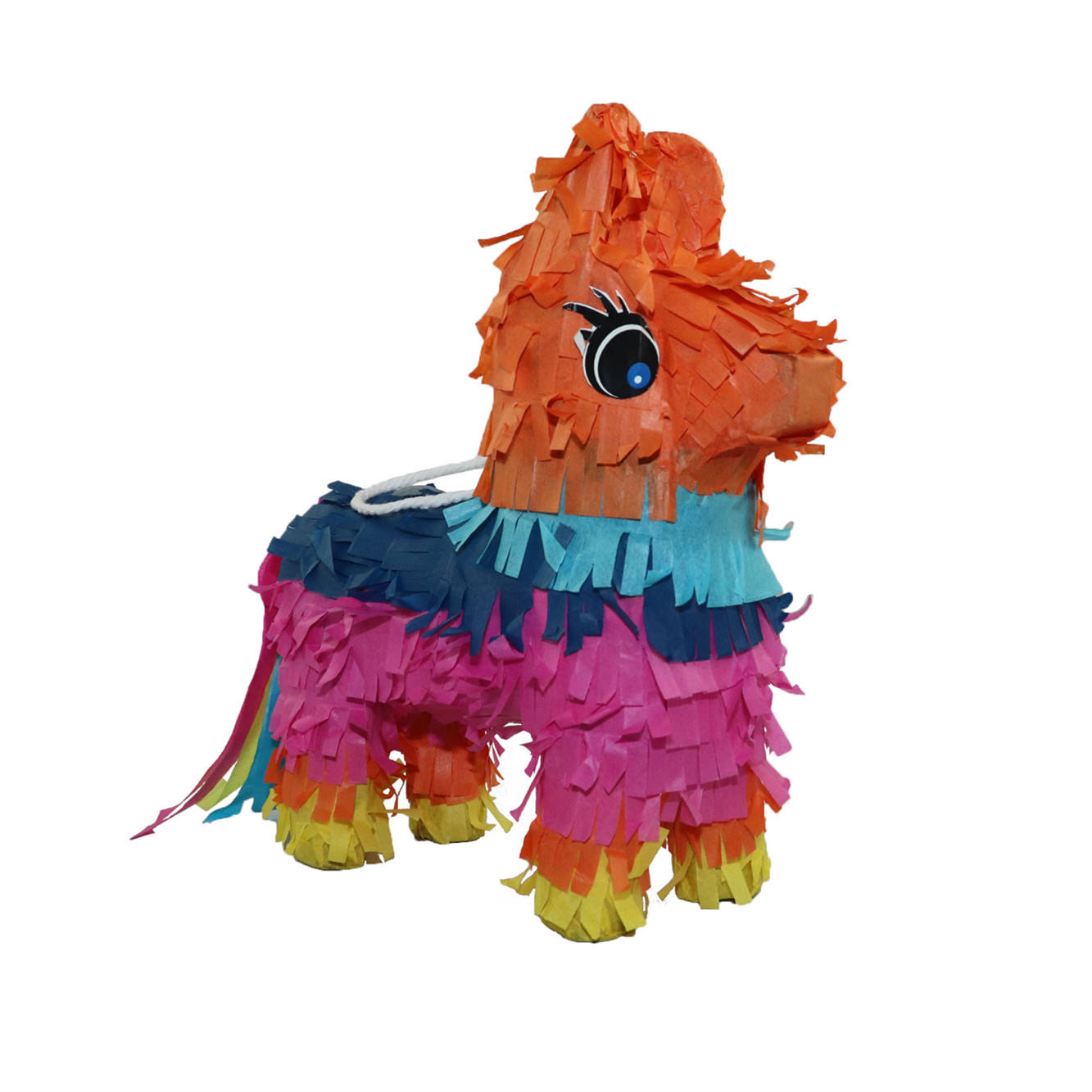 Wholesale Rainbow Paper Toy Design Mini Horse Donkey Pinata For Child Birthday