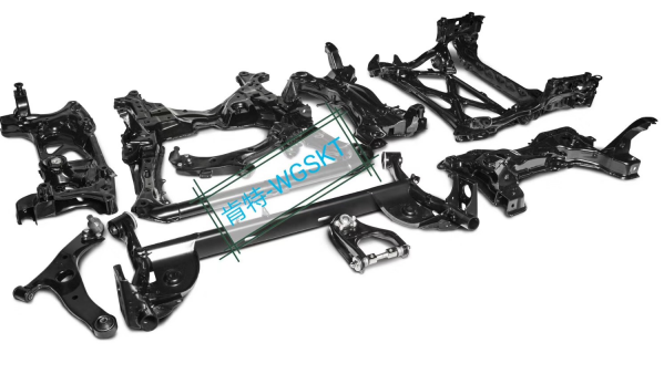 Steel Crossmember High Quality Auto Parts Crossmember Front Axle Engine Cradle Right OEM 544016728R