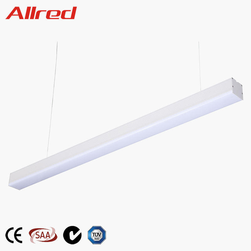 Hot sale modern design can continuous led linear pendant light
