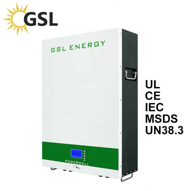 GSL de energía de alta calidad 50W <span class=keywords><strong>Kit</strong></span> de Panel Solar con batería LiFePO4 Paquete de batería de litio de 5Kwh 7Kwh 10Kwh