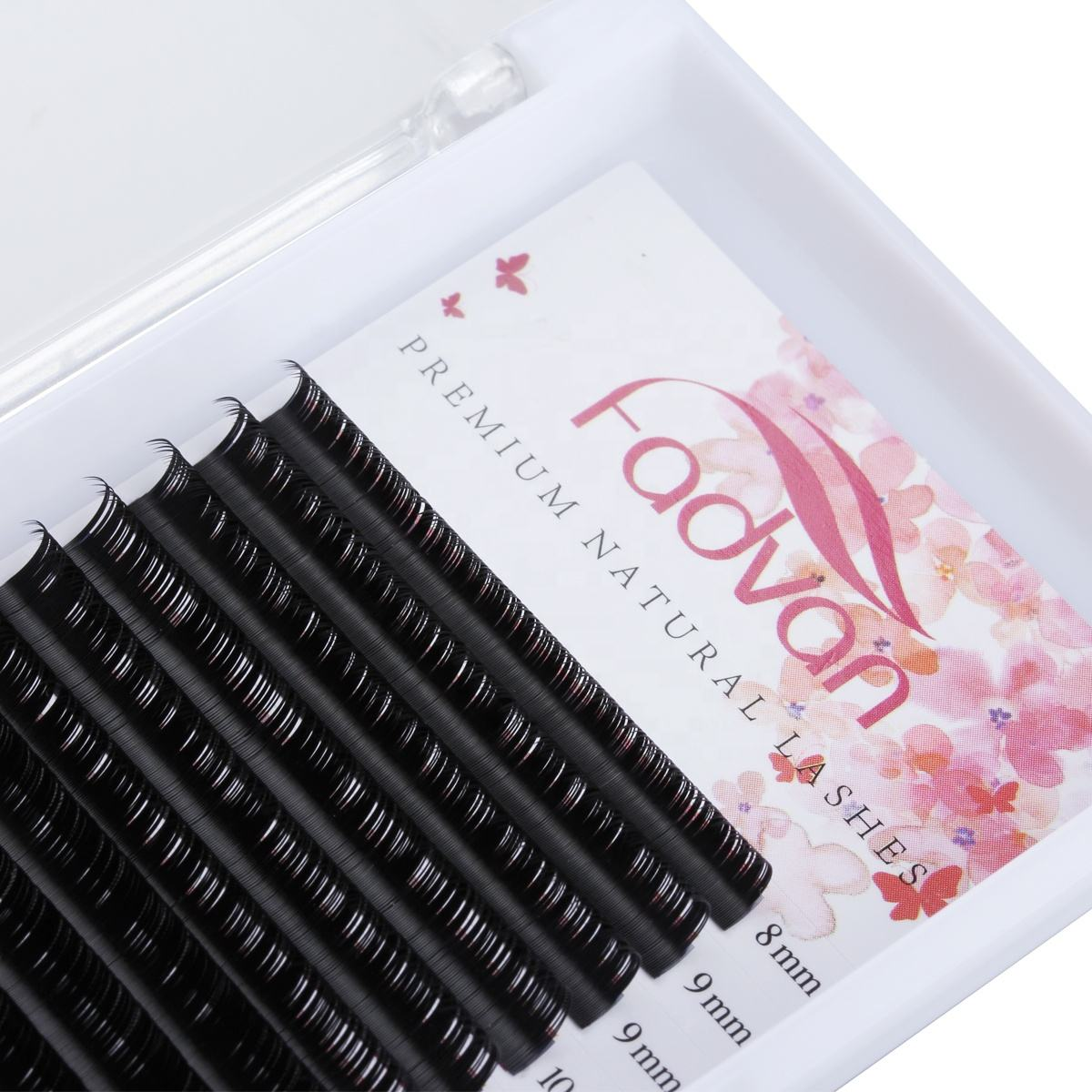 Fadvan Lash DD Curl Individual Top Quality Classic Lashes Korean Eyelash Extensions Factory Pesta as Clios Extension