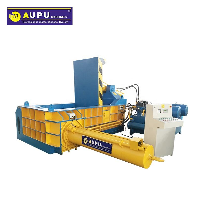 hydraulic scrap metal baler compactors aluminum pressing machine