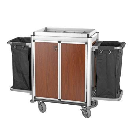Hot sale high quality hotel housekeeping trolley /cleaning cart