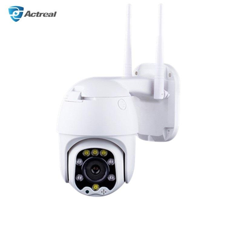 WiFi Connection 1080P HD 2MP CMOS Sensor Outdoor WiFi Camera Wireless Security Dome Camera with Motion Detection IP66 Waterproof
