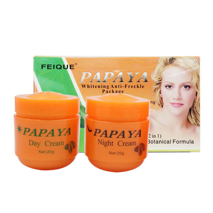 FEIQUE Private Label Whitening Papaya Extract Face Cream