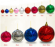 Shatterproof Ball Ornaments Christmas Tree Decoration, Tree Decoration Balls Set Indoor Outdoor for Home Holiday Wedding Party