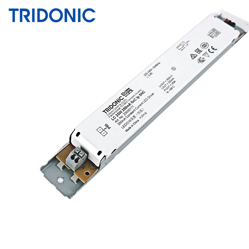 Original Tridonic LED driver LC 25W 250mA fixC lp SNC ESSENCE series constant current IP20 led driver 23000171