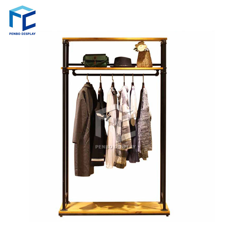 New Arrival Fashion Retail Design Woman Clothes Rack Shop Fittings