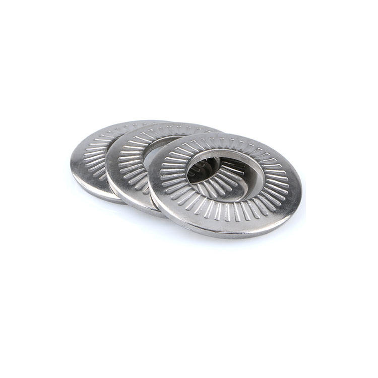 A4 Stainless Steel Curved Spring Lock Washers 250 pcs Metric DIN 128 Type A M18