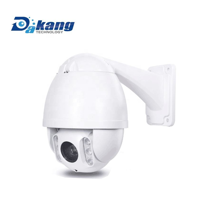 Dakang 4.5 Inci Mini 2MP IP PTZ Dome Camera,10X Lensa Zoom, P2P & ONVIF,60M Night Vision