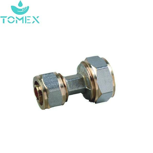 pvc/ppr pex al pipe and female/male PEX Brass/copper valve fittings for floor heating
