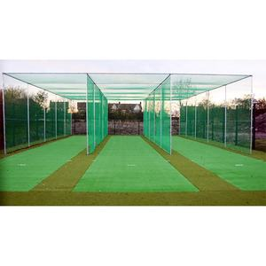 Custom 50 mm sport court goal garden Factory practice cricket net s netting set portable