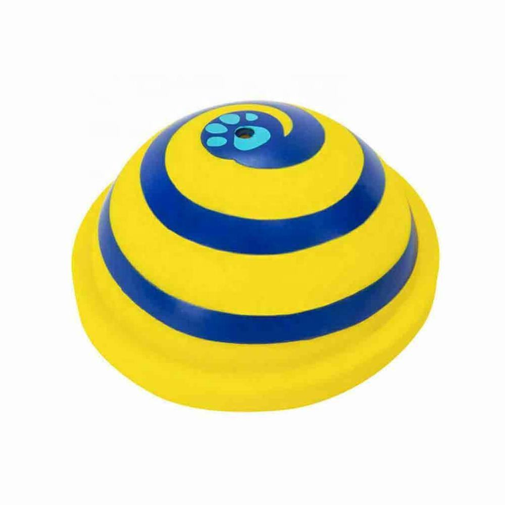Dog Toy Sounder Sounding Disc Woof Glider Soft & Safe Indoor Pet Dogs Play Toy Pets Unique Interacts Entertainment