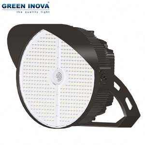 Twist-lock photocell available ip67 400w 800w 1000w led flood light for stadium