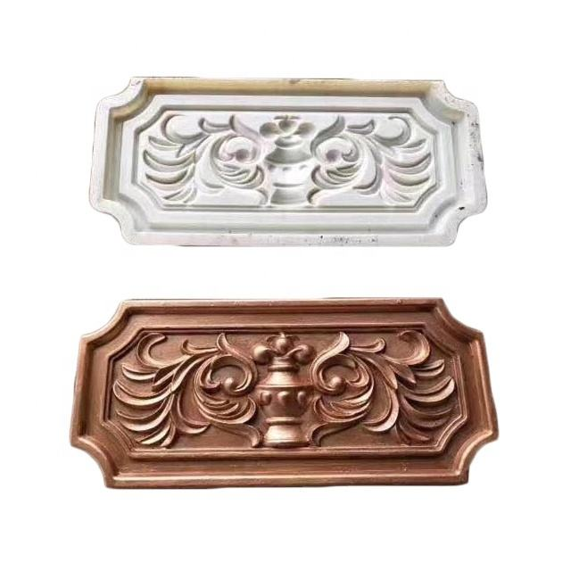 Outdoor wall concrete design panel mold cement flower board tubenest relief mould